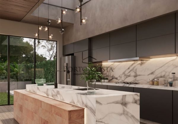 Cozinha de residência