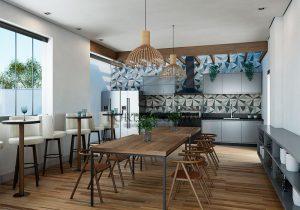 Espaço Gourmet em condomínio residencial